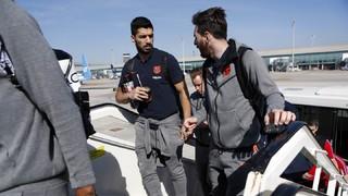 El viaje del Barça a Vigo