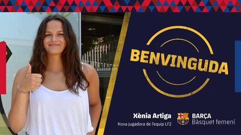 Xènia Artiga, primera incorporació del Barça CBS