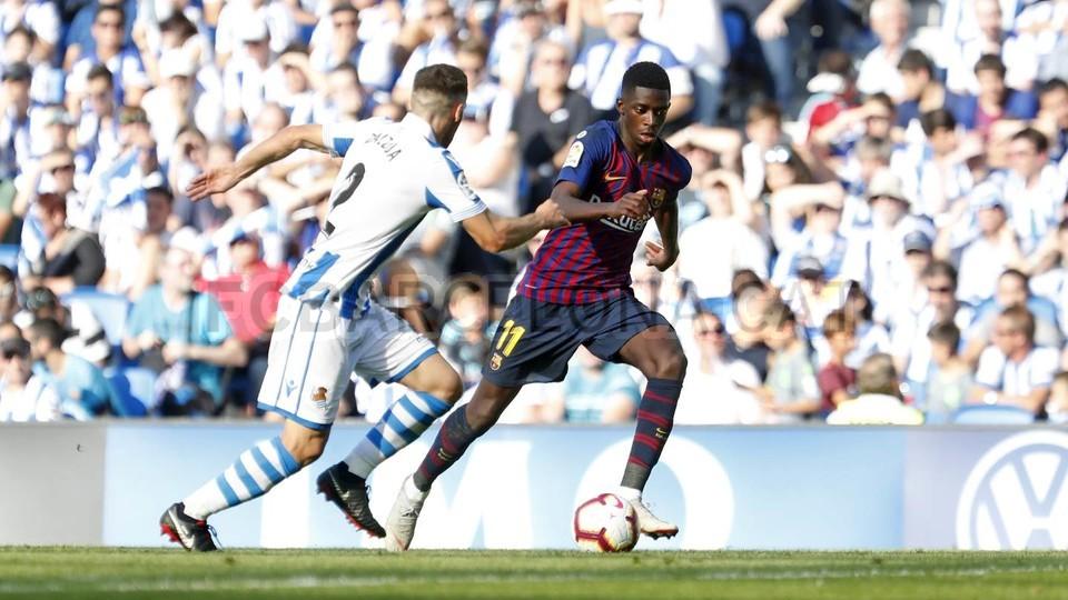 صور مباراة : ريال سوسيداد - برشلونة 1-2 ( 15-09-2018 ) 98523480