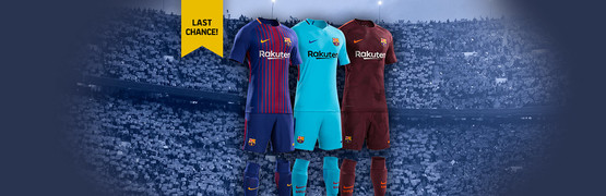 Enter the draw to win one of the three official Barça kits