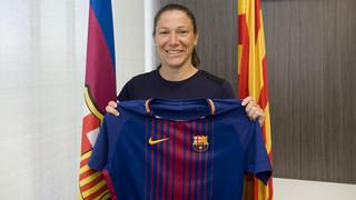 Elise Bussaglia, el primer fitxatge del Barça Femení 2017/18