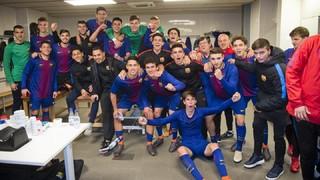 Juvenil A – Atlètic de Madrid: Directes a la Final Four! (2-0)