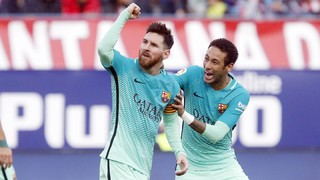 At. Madrid 1 - FC Barcelona 2 (1 minute)