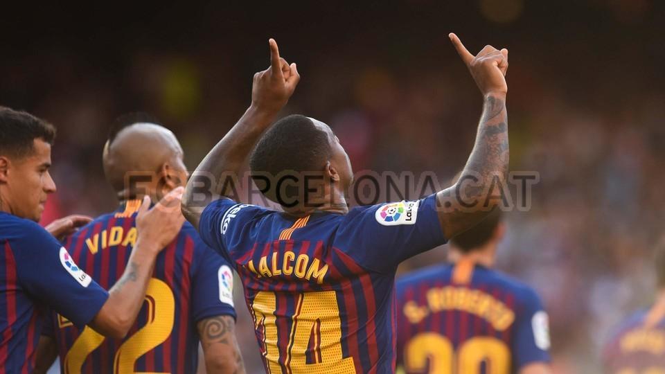 صور مباراة : برشلونة - بوكا جونيورز ( 16-08-2018 )  95975433