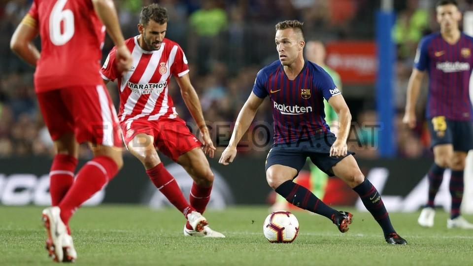 صور مباراة : برشلونة - جيرونا 2-2 ( 23-09-2018 )  99533833