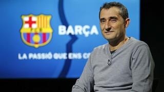 Ernesto Valverde exclusive interview