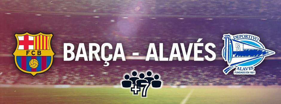 Official group tickets Barça VS Alavés