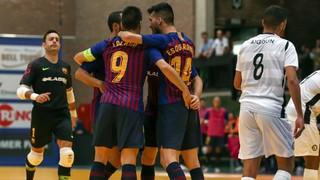 Barça Lassa - Kremlin Bicêtre: Debut victoriós a Halle (4-2)