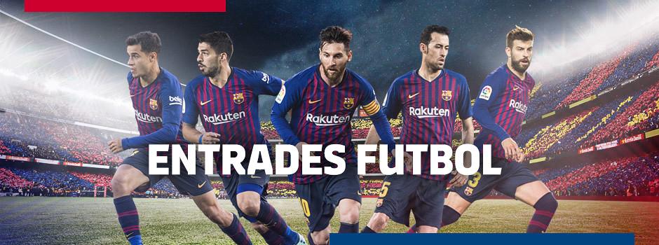 Entrades oficials FC Barcelona de la Temporada 18/19