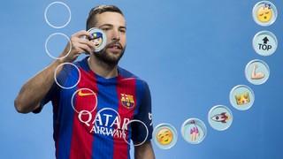 Barça emojis: Jordi Alba