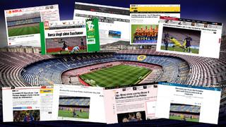 La decisión de jugar con un Camp Nou vacío tiene un impacto global