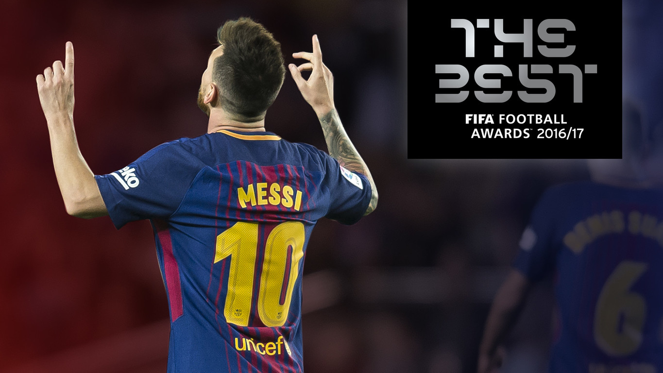Barça's Argentinian superstar revealed as one of the finalists for FIFA's The Best prize for the player of 2016/17 along with Cristiano Ronaldo and Neymar Jr