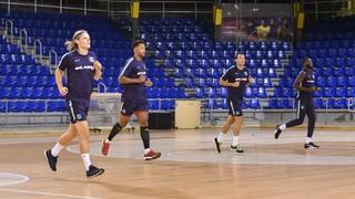 El Barça Lassa se pone en marcha en el Palau Blaugrana