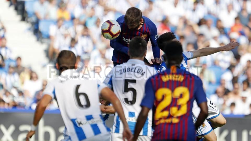 صور مباراة : ريال سوسيداد - برشلونة 1-2 ( 15-09-2018 ) 98507356