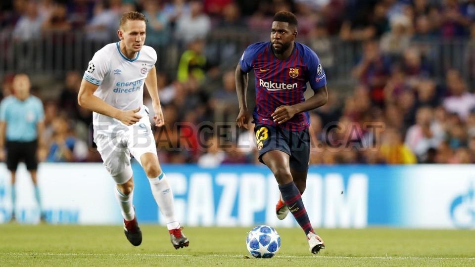 صور مباراة : برشلونة - PSV إندهوفن 4-0 ( 18-09-2018 )  98901852