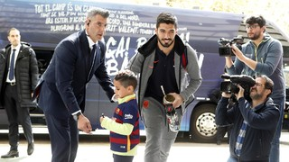 Barça arrives in Sevilla