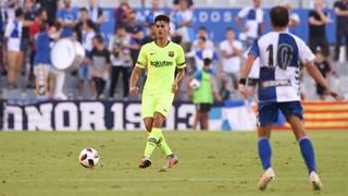 Teruel - Barça B: Derrota por la mínima (1-0)