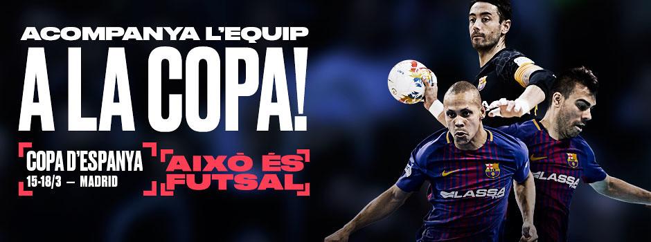 Entrades copa d'Espanya de Futbol Sala