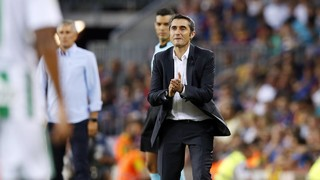 Ernesto Valverde: 'We have a good feeling, above all with the level of the team'