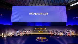 L'Assemblea de Compromissaris del FC Barcelona 2018 (part 1 de 3)