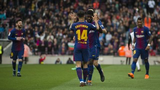 Coutinho's first five assists for Barça!