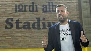 """Jordi Alba: """"Estem vius, queda molta Lliga"""""""