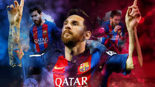 All the Leo Messi goals in the 2016/2017 season
