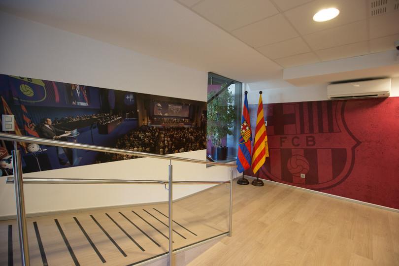 Contacta con la oap fc barcelona for Oficinas fc barcelona