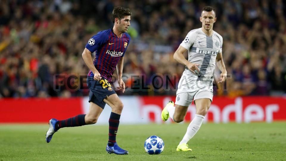 صور مباراة : برشلونة - إنتر ميلان 2-0 ( 24-10-2018 )  101520990