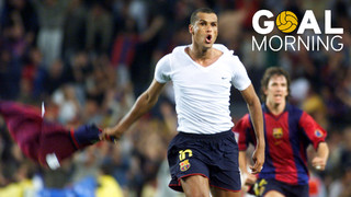 Goal Morning!  Happy birthday, Rivaldo!