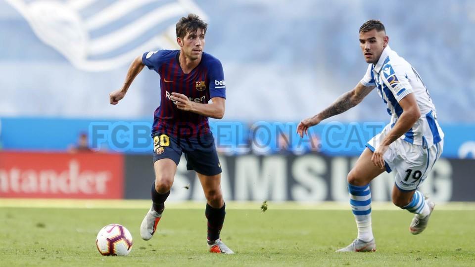 صور مباراة : ريال سوسيداد - برشلونة 1-2 ( 15-09-2018 ) 98523486