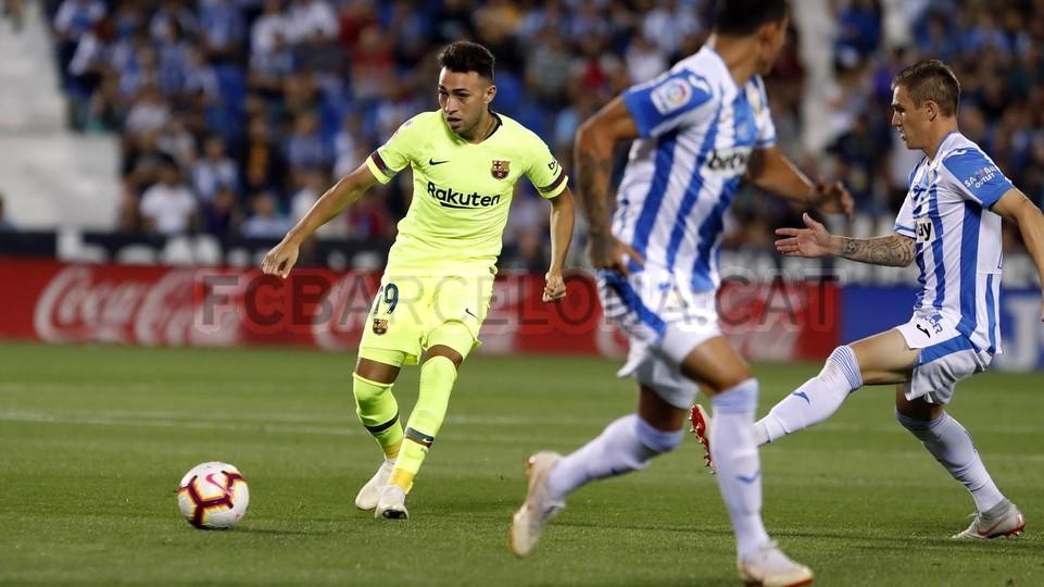 صور مباراة : ليغانيس - برشلونة 2-1 ( 26-09-2018 ) 99772767