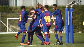 The top five goals of the week from La Masia (17-18 February)