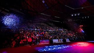 El musical de la presentación de las secciones amateurs del FC Barcelona