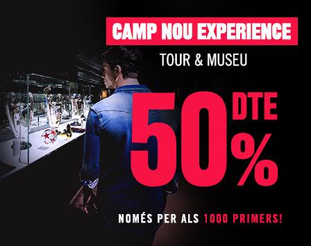 Camp Nou Experience Black Friday al 50%