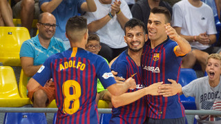Barça Lassa – Halle-Gooik: Una victoria que es insuficiente para ser primeros (7-3)