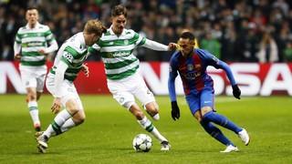 Celtic - FC Barcelona (3 minutes)