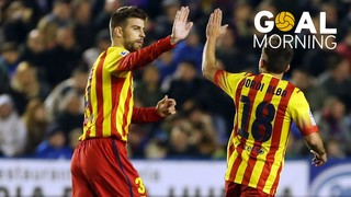 Goal Morning! Piqué against Levante
