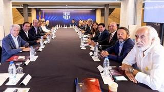 Ramon Alfonseda assisteix a la reunió del Patronat