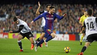 Valencia 1 - FC Barcelona 1 (3 minutos)