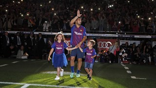 A celebration for the players and their children