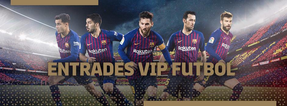 Entrades VIP oficials FC Barcelona de la Temporada 18/19