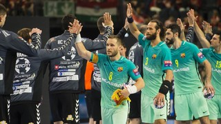 HC Vardar 26 - FC Barcelona Lassa 25 (Lliga de Campions)