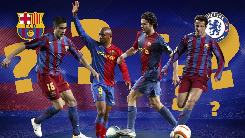 Alors que les Blaugranas vont retrouver Pedro et Cesc Fàbregas, des anciens du Barça, en 8èmes de finale de la Ligue des Champions, découvrez qui a porté les couleurs des deux équipes
