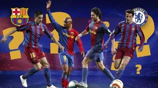 Además de los actuales miembros de la plantilla 'Blue' que jugaron en el Barça como son Pedro y Cesc Fábregas, ¿recuerdas el resto de jugadores que han estado en los dos equipos? ¡Descúbrelo!
