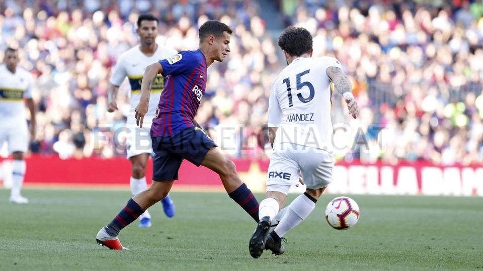 صور مباراة : برشلونة - بوكا جونيورز ( 16-08-2018 )  95974498