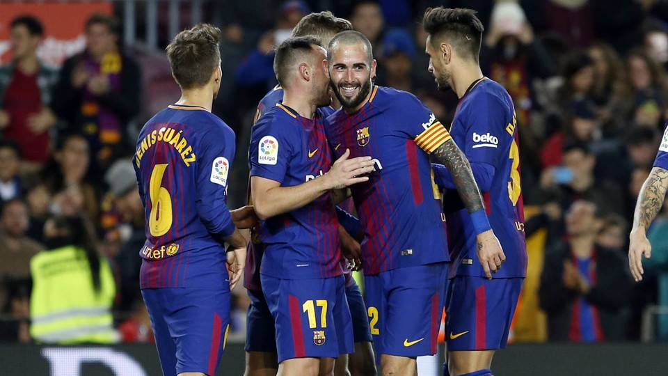 61634147 CRÓNICA: Barcelona 5-0 Real Murcia - Comunio-Biwenger