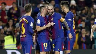 FC Barcelona 5 - Murcia 0 (1 minuto)