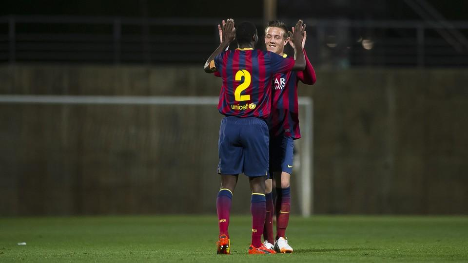 The top five youth team goals - FC Barcelona