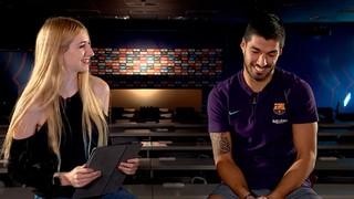 ¿Cuántas preguntas puede responder Luis Suárez en 90 segundos?